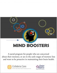 Mind Boosters (Tuesdays) @ Collabria Care | Napa | California | United States