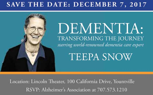 DEMENTIA: TRANSFORMING THE JOURNEY STARRING TEEPA SNOW