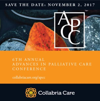 6th Annual Palliative Care Conference: Save the Date!