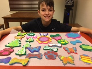 Meet Lane Thompson, Our Youngest Fundraiser