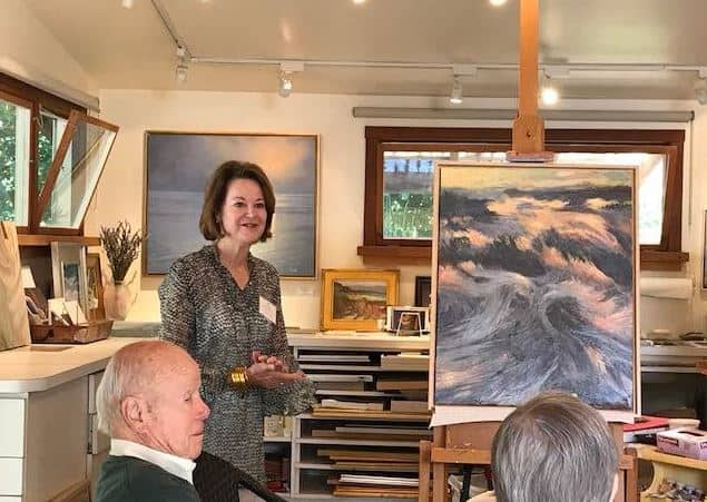 Artist Delights UpValley Villagers by Sharing Her Inspirations