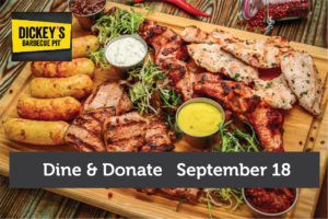 Dine & Donate at Dickie's BBQ Pit @ Dickie's Barbecue Pit