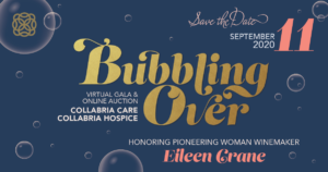 Bubbling Over - Virtual Gala and Online Auction @ Online